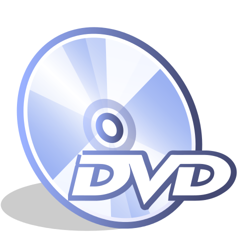 DVD- An icon from icon theme Crystal Clear