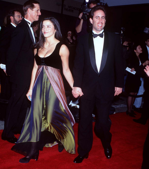 Jerry Seinfeld and Shoshanna