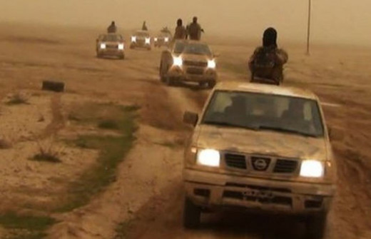 ISIS advancing