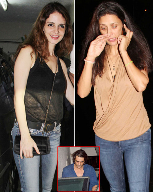 Mehr Rampal walks out of a party after having a fight with her husband, Arjun Kapoor.Watch full video on Biscoot Showtym.