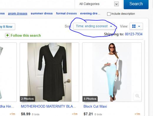 Ebay filters