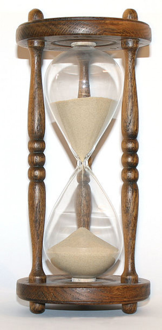 When my son was five, he wanted to know how to tell AM from PM with an hourglass.