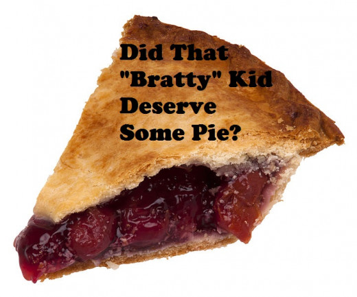 Did the guy who bought all the pies at Burger King to deny a whiny kid do the right thing?