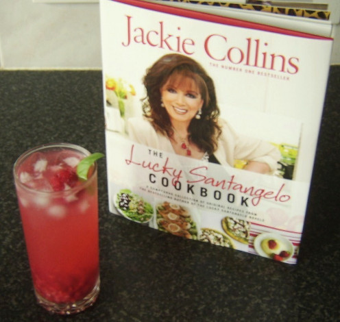 The Jackie Collins Cocktail as devised by Chef Wolfgang Puck