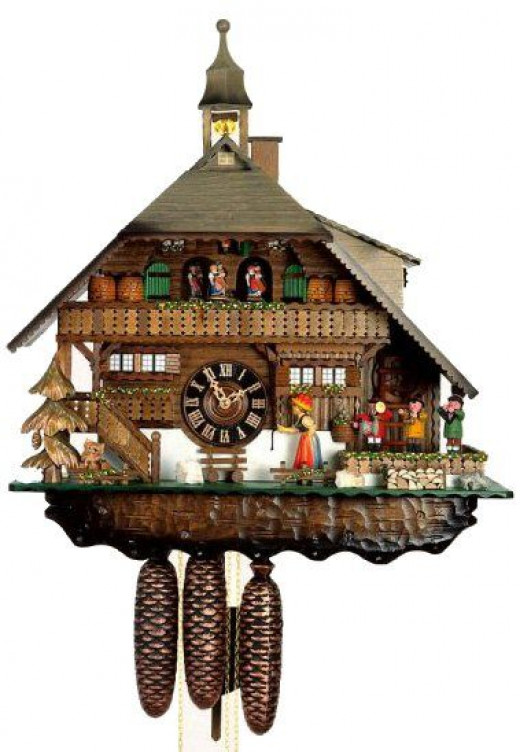 Cuckoo clocks are an acquired taste. My father once shot the cuckoo for waking him up from a sound sleep.