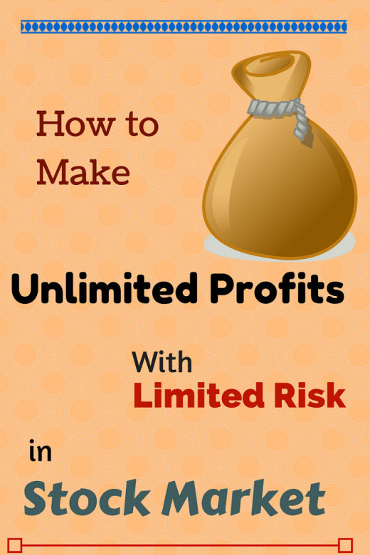How to Make Unlimited Profits with Limited Risk in Stock Market.