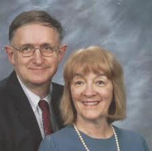 Chaplain Rick Vincent with wife Lynn