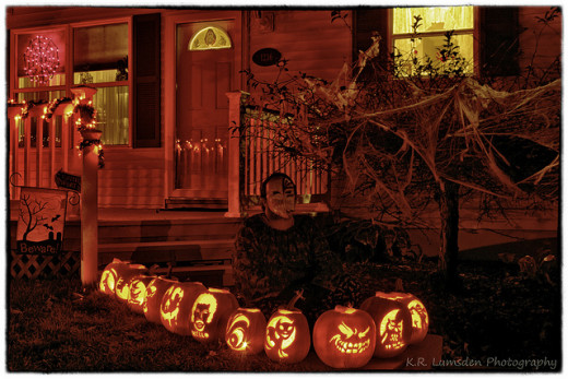 These pumpkins are a bit more complex, but they sure are beautiful!