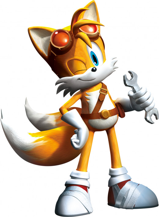 Tails as he will appear in Sonic Boom.