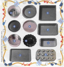 All Kinds Of Baking Pans