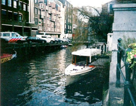 The Salon Boat In Which I Cruised The Canals Of Amsterdam