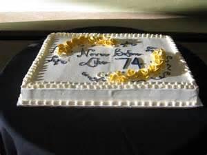 Sheet Cake with Fondant Icing