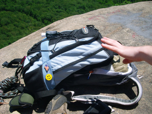 Remember to pack ample water and snacks while hiking to fight thirst and hunger!