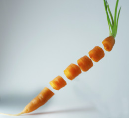 Carrots are a good source of vitamins on the FODMAP diet