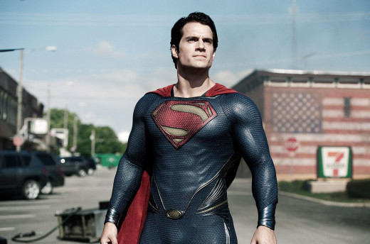Henry Cavil as Superman