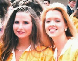 Best friends Stacy McCall and Suzie Streeter.