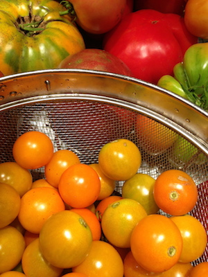 Start with sweet cherry tomatoes and when they are dried, they will be sweet as candy.