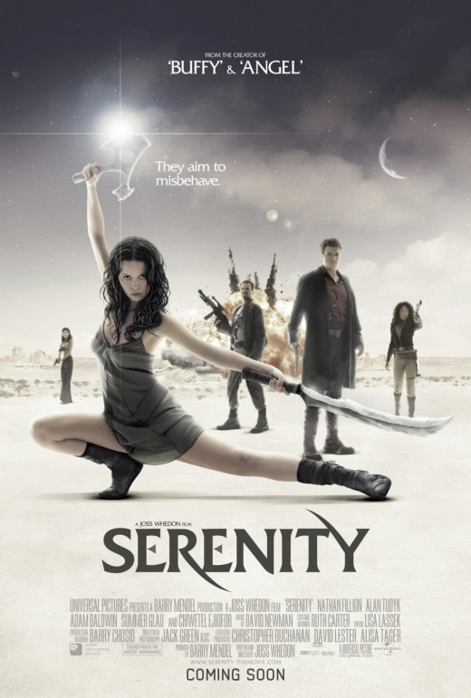 "Nathan Fillion and Gina Torres in ""Serenity"""