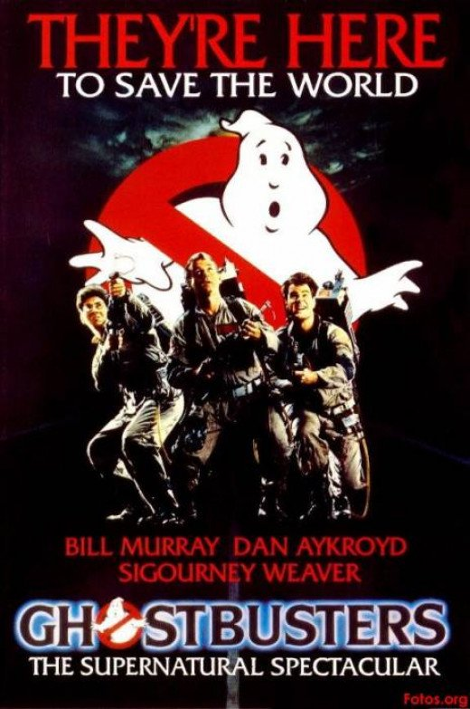 """Bill Murray in """"Ghost Busters"""""""