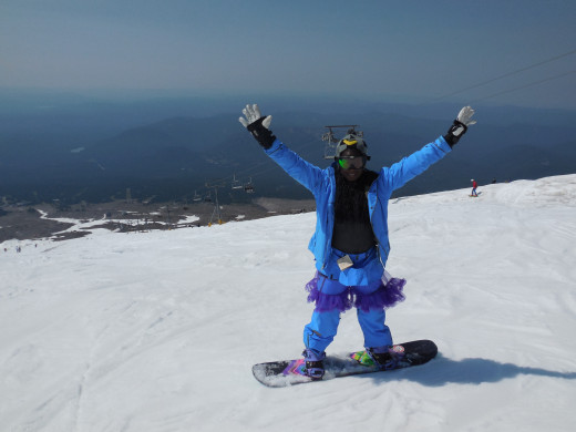 A picture of me snowboarding - finally!