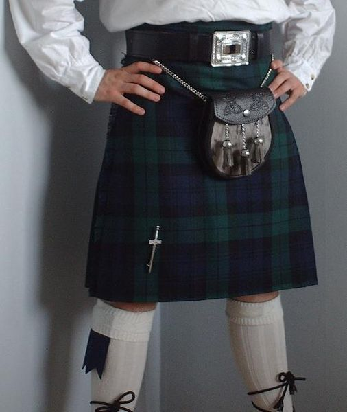 The Dress kilt is still popular today and is often worn on special occasions.