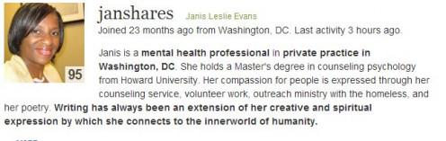 The Motivational Author http://janshares.hubpages.com/