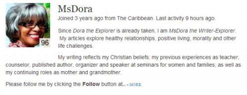 Motivational Author http://msdora.hubpages.com/