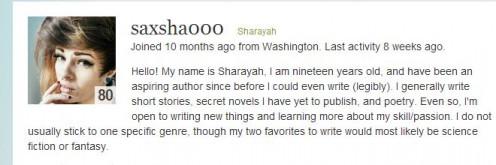 Young Blood Writer http://saxsha000.hubpages.com/