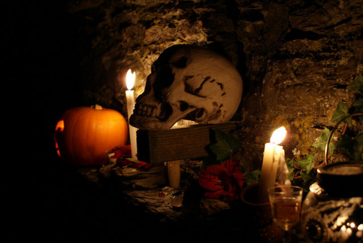 Halloween's origins are rooted in Samhain.