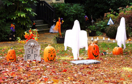 The myth about ghosts on Halloween comes from Samhain, when it is believed the spirits of the dead communicate with the living.