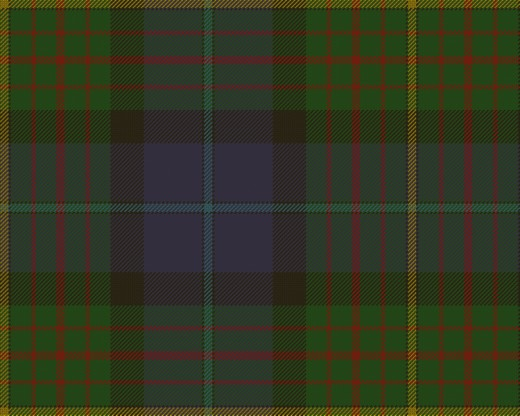Most American states have registered a Tartan, This one is for California.
