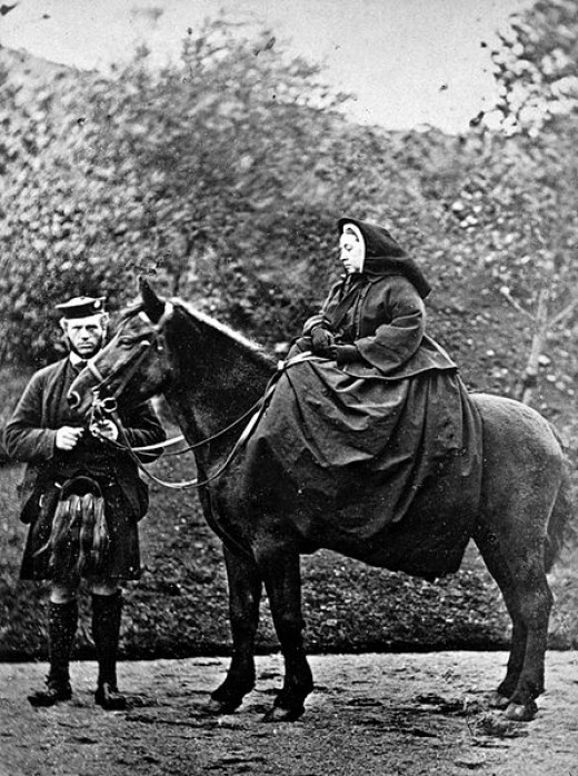 Queen Victoria was an avid Tartan supporter and helped make it easier for women to wear The Scottish National dress.