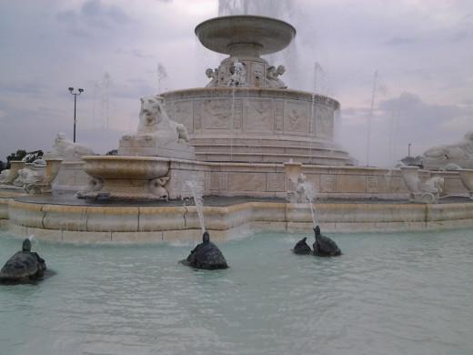 Scott Memorial Fountain - Belle Isle - Detroit, MI.