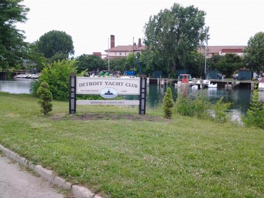 Detroit Yacht Club in Belle Isle.