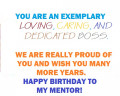 Best Happy Birthday Messages to a Mentor - Special Card Comments