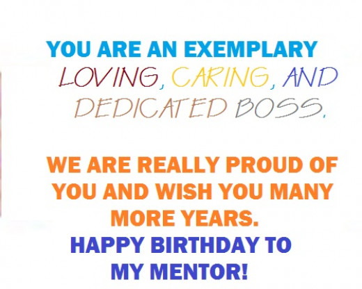 Birthday Wishes For Mentors ~ Best happy birthday messages to a mentor special card comments
