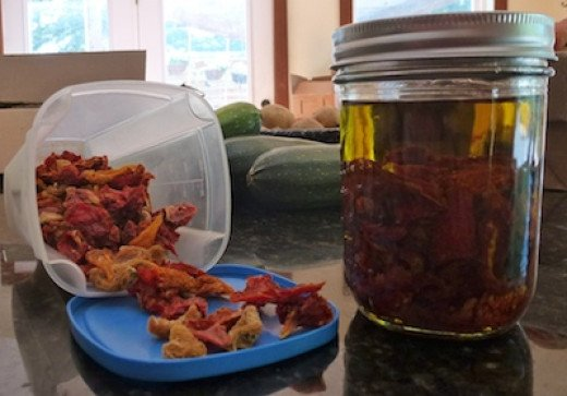 Give a gourmet gift of sun-dried tomatoes. Commercial sun-dried tomatoes are never dried by the sun.