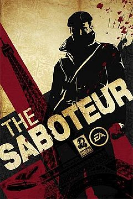 Licensed under Fair use of copyrighted material in the context of The Saboteur.
