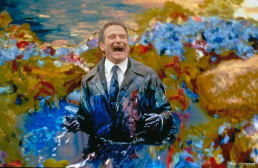 "Robin Williams in ""What Dreams May Come"". R.I.P."