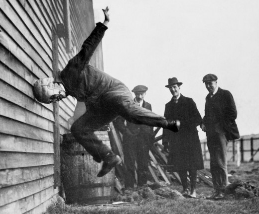 Helmet testing has made great strides since 1912.
