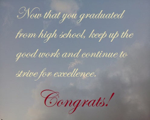 Pics Photos - High School Graduation Quotes For Cards Kootation Funny