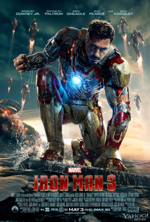 Iron Man 3 - the No.6 global 'box office' smash hit