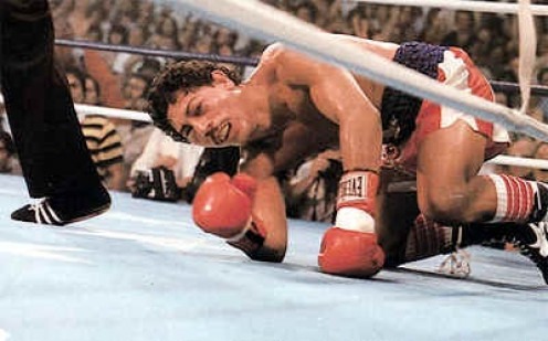 Wilfredo Gomez tried his best but got beat up when he took on the great Salvador Sanchez.