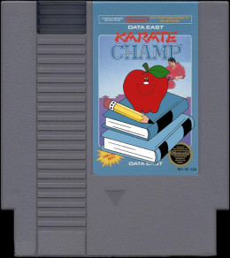 A reminder like this on the game cartridge was printed in later edition North American cartridges. The game was used to get kids away from their Nintendo Entertainment System and back to work on homework.