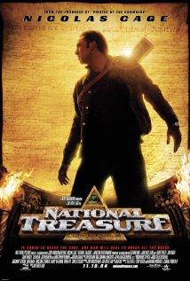 """Nicolas Cage in """"National Treasure"""""""