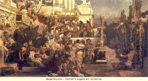 Nero's Torches, Henryk Siemiradzki (1843-1902)