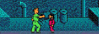 When you think Total Recall, you immediately think about Arnold punching the crap out of midgets in pink jumpsuits. What, no? Well, the creators of this game thought that. Clearly.