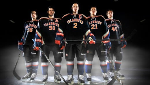 "The New York Islanders' ""black"" alternate."