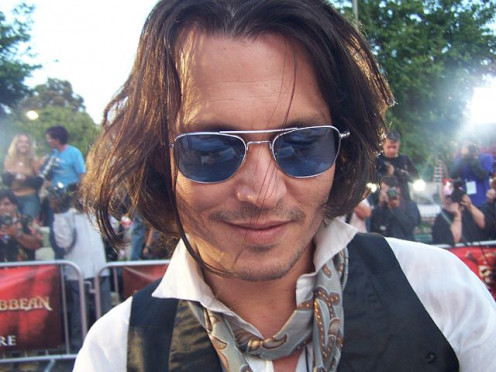 Johnny Depp is one of a number of role models who have helped children to think wearing glasses is cool.