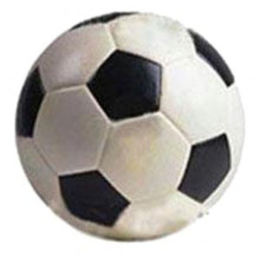 A football. Women don't play football. They play Women's Football.